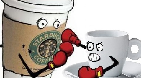 starbucks vs bar